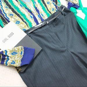 NWT Calvin Klein pinstripe career style trousers